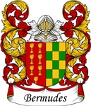Bermudes Family Crest, Coat of Arms