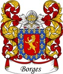 Borges Family Crest, Coat of Arms