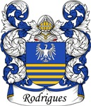 Rodrigues Family Crest, Coat of Arms