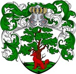 Lohman Family Crest, Coat of Arms