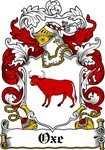 Oxe Coat of Arms, Family Crest