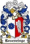 Rosenvinge Coat of Arms, Family Crest