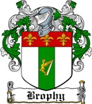 Brophy Coat of Arms, Family Crest