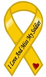 I Love And Miss My Soldier Ribbon US Army