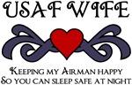 USAF WIFE - Keeping my Airman Happy