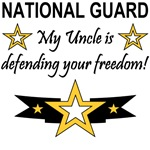 My Uncle is defending your freedom
