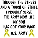 Army Mom - My Son Has Got Your Back Poem