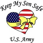 US Army Mom & Dad - Keep My Son Safe