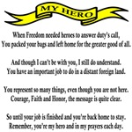 My Hero Poem for the Mom or Dad