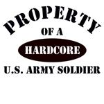 Property of a Hardcore US Army Soldier