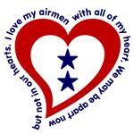 2 Star Service Flag - Airmen
