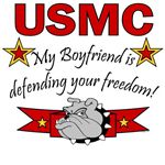 My Boyfriend is defending your freedom!
