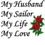 My Husband Sailor Life Love