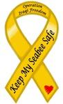 Keep My Seabee Safe OIF Yellow Ribbon