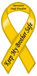 Keep My Brother Safe Yellow Ribbon Items