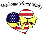 Military Welcome Home Baby