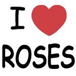 I heart roses