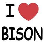 I heart bison