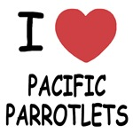I heart pacific parrotlets