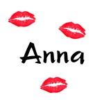 Anna kisses