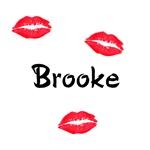Brooke kisses