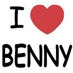 I heart benny