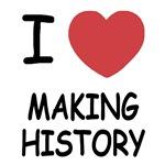 I heart making history