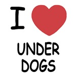 I heart underdogs