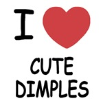 I heart cute dimples