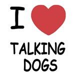 I heart talking dogs