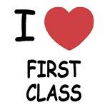 I heart first class