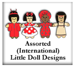 Asst. International Dolls