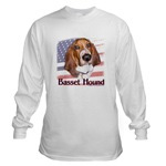 Patriotic Basset Hound