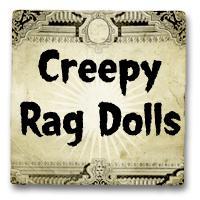 Creepy Button Eye Rag Dolls