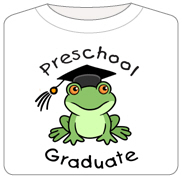 Frog Preschool Graduate
