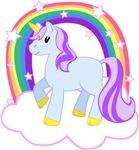 Magical Unicorn with Rainbow