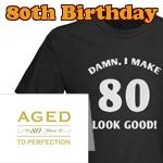 80th Birthday Gag Gifts