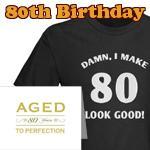 80th Birthday Gag Gifts
