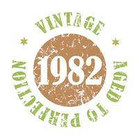 Vintage 1982 Aged To Perfection