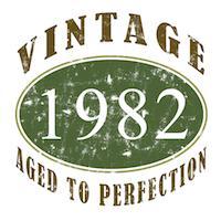 Vintage 1982 Retro