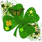 Fancy Irish 4 leaf Clover
