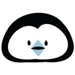 Cute little Penguin face