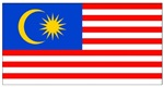 Malaysia Blank Flag