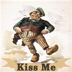 Vintage Kiss Me Irish