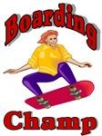 Skateboarding Champ