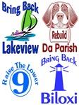 Hurricane Katrina Survivor Shirts and Gear