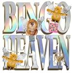 Bingo Heaven Text Animals pomeranian