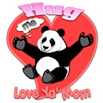 Hug Me Panda Love Ya' Mom