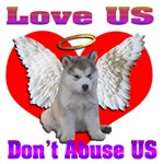 Love Us Don't Abuse US Animal Abuse Awareness