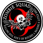Zombie Squad 3 Ring Patch Revised